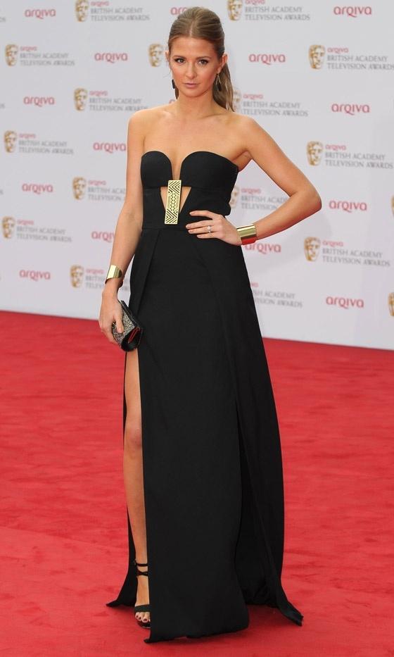 MILLIE MACKINTOSH- BAFTAS 2013