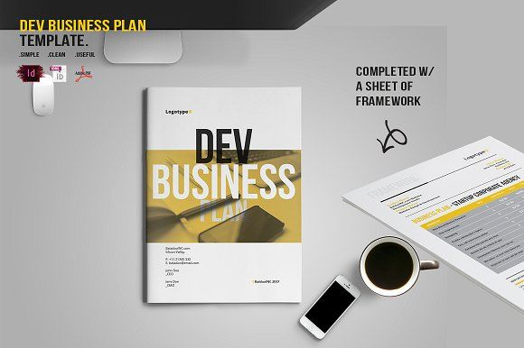 DEV Business Plan by BizzCreatives on @creativemarket
