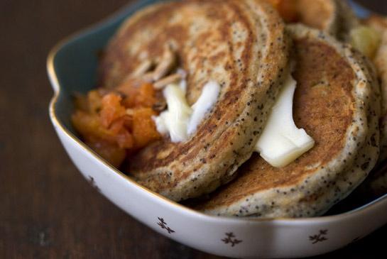 poppy seed pancake
