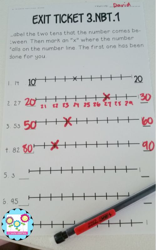 Rounding exit tickets. Fantastic find! Also comes with math tasks and I can statements! $ #rounding #placevalue #commoncore