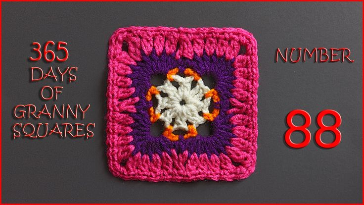 365 Days of Granny Squares Number 88