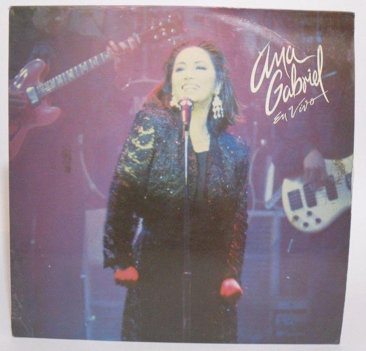 Ana Gabriel En Vivo LP Hecho en Venezuela  #LatinPop