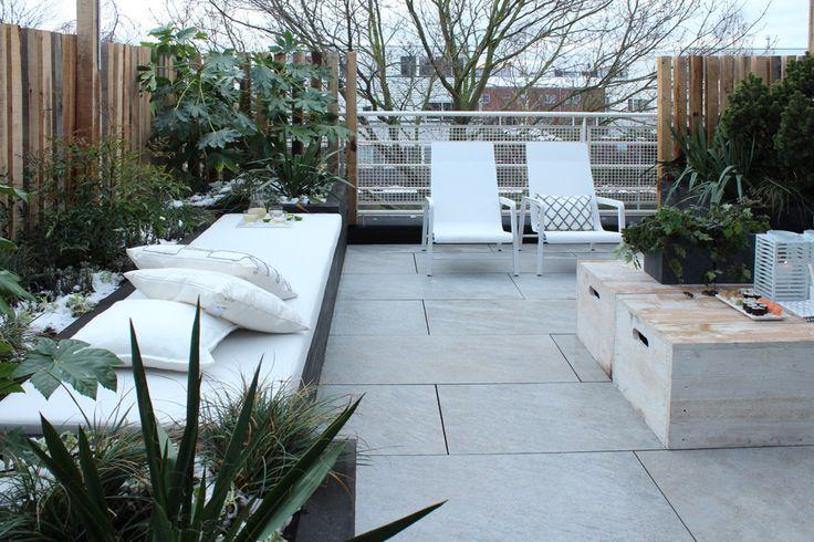 Studio marijke schipper styling voor eigen huis tuin garden pinterest gardens urban - Landscaping modern huis ...