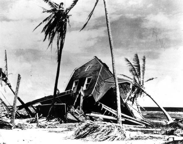 Devastation after the hurricane at Miami Beach (1926). | Florida Memory