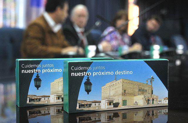 Edición limitada caja snack de Lan. Para vuelos nacional y las ciudades de La Paz y Santa Cruz en Bolivia. www.vivaiquique.com