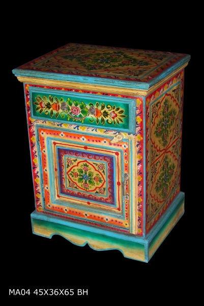 M s de 1000 ideas sobre mesas pintadas en pinterest - Armarios pintados a mano ...