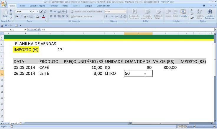 Aula de Excel Como elaborar uma planilha no Excel Como fazer uma Planilha no Excel para iniciantes.  Como mexer no Excel para principiantes. Aula introdutória. Curso de Excel Básico com visão geral,  conceitos de células e colunas, elaboração da primeira tabela. https://youtu.be/qGvtEhvyEiA