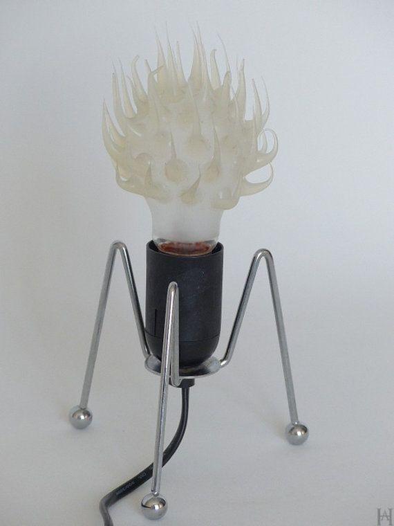LAMPE VINTAGE en silicone des années 80 par HistoiresAntiquites