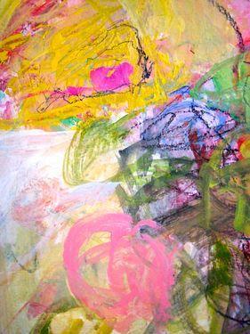 "Saatchi Art Artist Sandy Welch; Painting, ""Spring Fever"" #art"