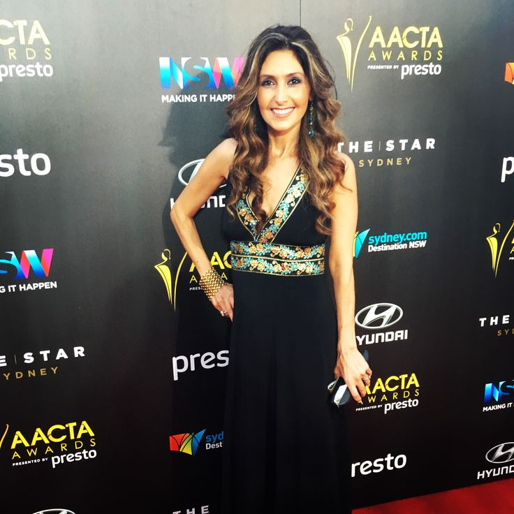 Me on the red carpet at the 5th AACTAs in Sydney