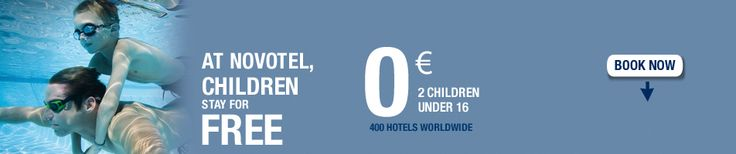 Novotel Hotels: book a stay at a hotel
