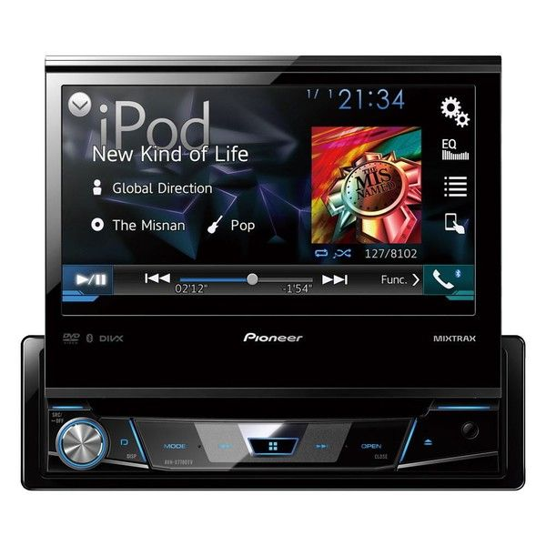 DVD Player Pioneer Avh - X7880Tv 1 - Din Com Tv Digital Bluetooth USB 7 Polegadas e Mixtrax