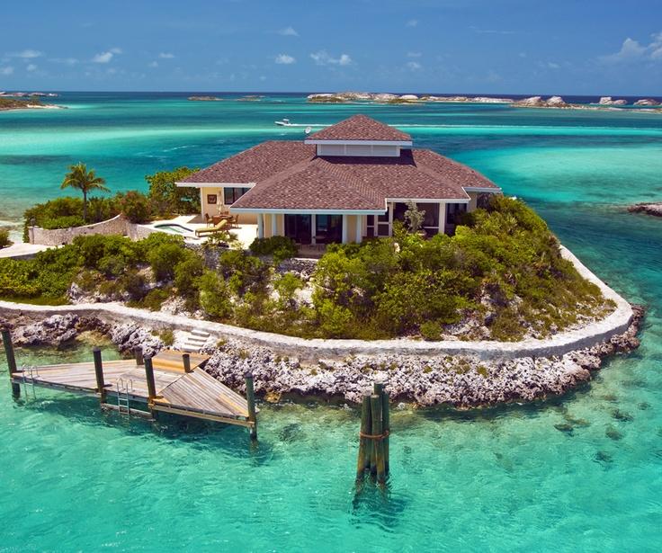 Birdcage Villa In Fowl Cay Resort In Exumas Bahamas