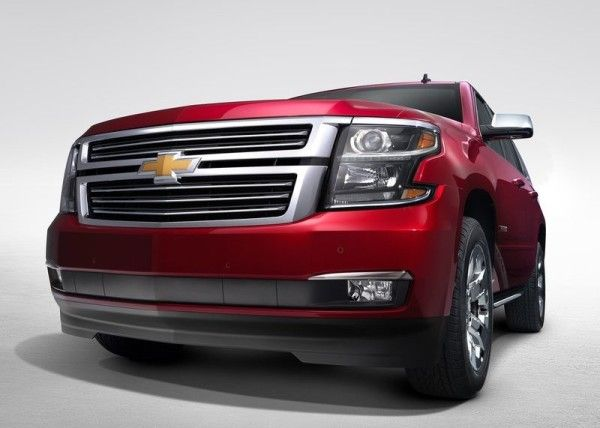 2015 Chevrolet Tahoe Specification Details