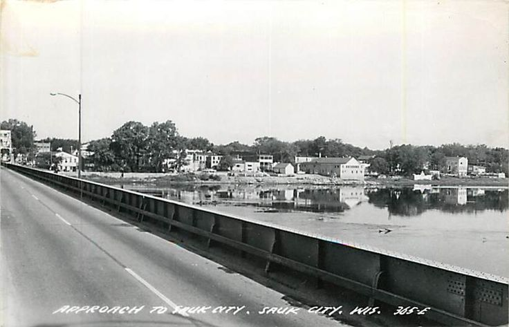Wisconsin, WI, Sauk City, Approach to Sauk City Real Photo Postcard in Collectibles, Postcards, US States, Cities & Towns   eBay