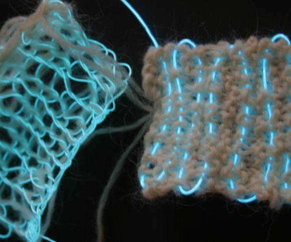 Diffus » Interactive textiles 2006