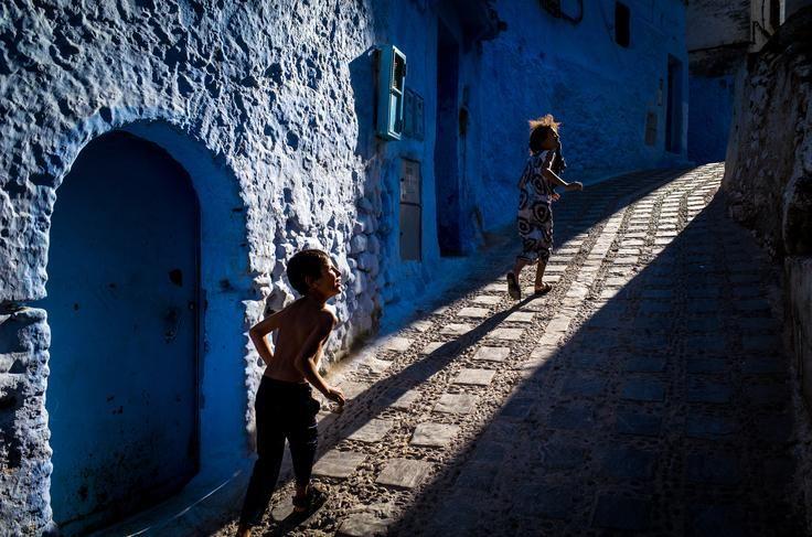 All in Blue Photo by Mac Kwan
