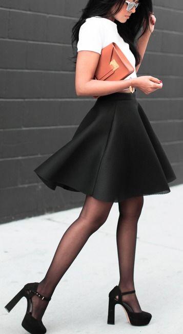Skater skirt.