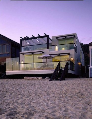 Beach #House in #Malibu, #California and the living is good!