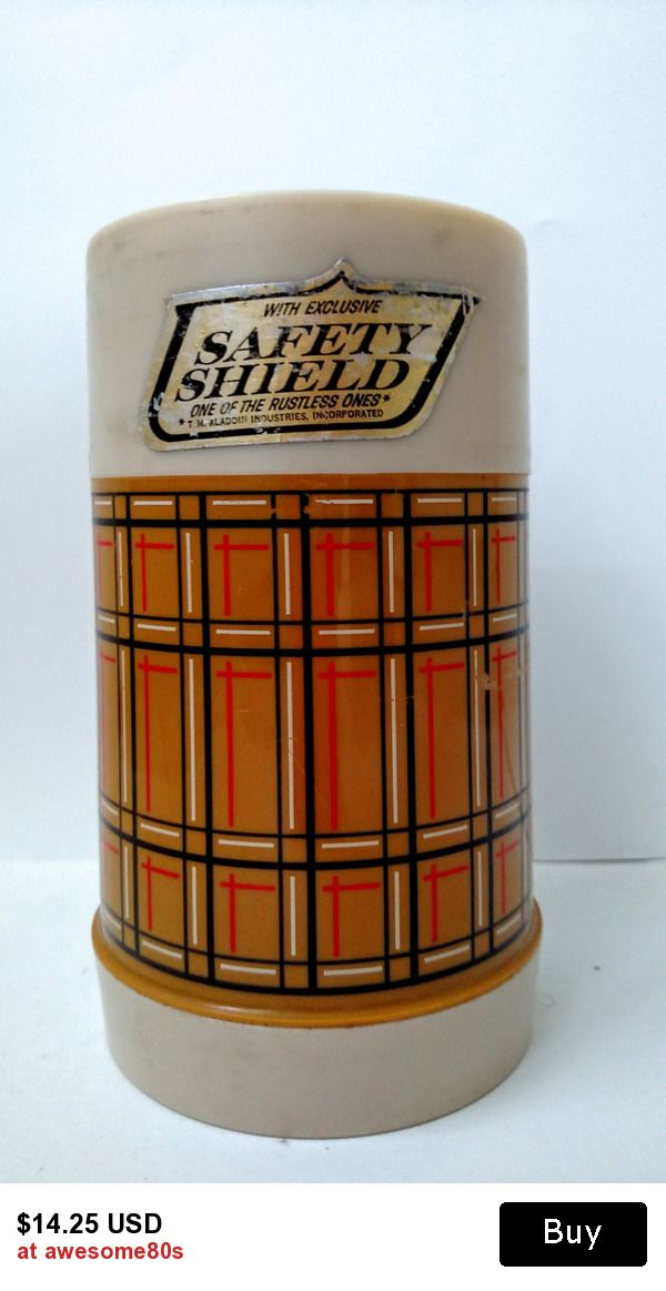 vintage Aladdin thermos with wide mouth
