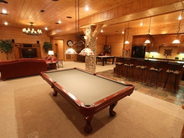17 Best Images About Log Cabin Rec Rooms On Pinterest Arcade Games Theater And Basement Game
