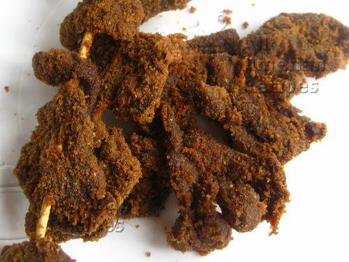 Nigerian Suya: made with the trademark suya spice. Yummy!
