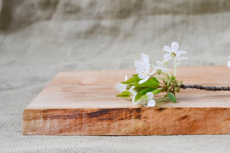Small Cutting Board Natural Edge Salvaged by RedOnionWoodworks