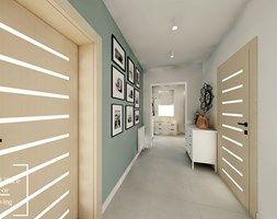 Salon z aneksem - Tymbark - Hol / przedpokój, styl nowoczesny - zdjęcie od Good Place For Living