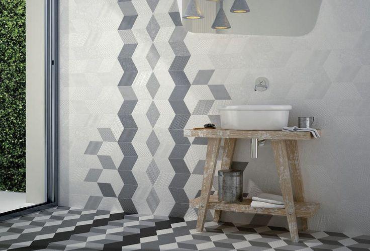 Különleges mintázat a falon! Nem is kell más dekoráció!