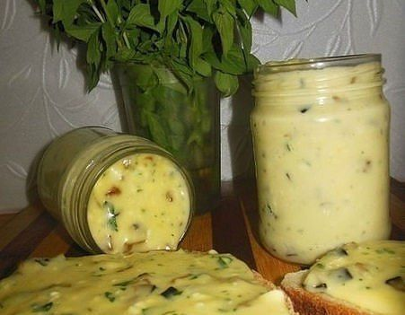 БЛОГ ПОЛЕЗНОСТЕЙ: Домашний плавленый сыр с шампиньонами - нереальная вкуснятина!