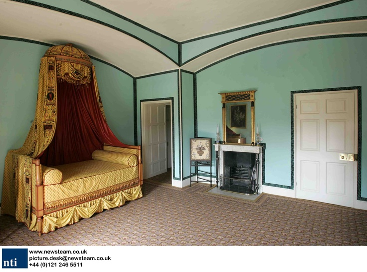 Princess Elizabeth 39 S Bedroom From Early 1800 Kew Palace
