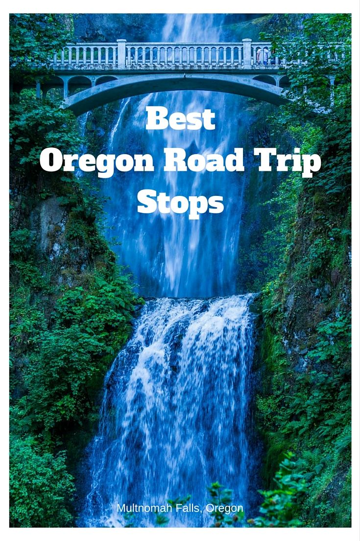 Some of the best Oregon road trip stops for a memorable visit to Oregon. | Sight seeing in Oregon | Beautiful views in Oregon | Beautiful stops in Oregon | Waterfalls in Oregon