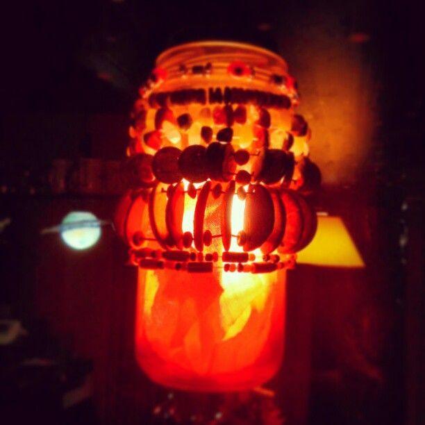 #Light in a #recicled bottle. Photo by xoannadearco Instagram