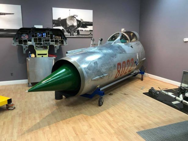 MiG-21 Fishbed Cockpit Section Offered For Sale | Cockpits