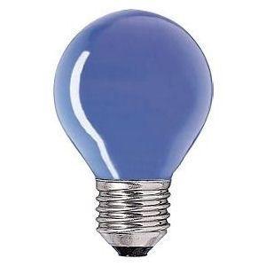 Kogel-lamp  15 watt E27 blauw