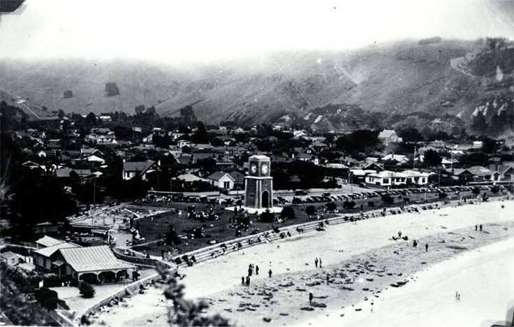 As it was in the very early part of the 1900's  Sumner, Christchurch, NZ