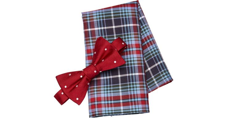 Buy a Tommy Hilfiger Red Bow Tie & Pocket Square Set online at Men's Wearhouse. See the latest styles of men's Bow Ties. FREE Shipping on orders $99+.