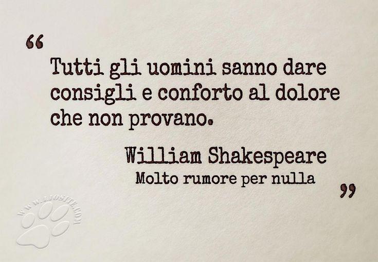 Shakespeare - consigli