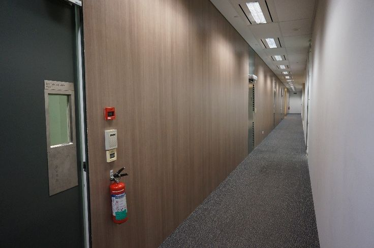 DI-NOC used to refurbish walkway walls