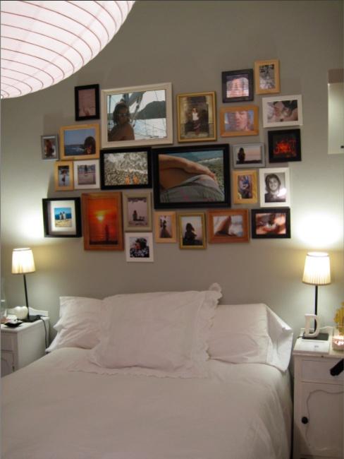 Composición de cabezal de dormitorio