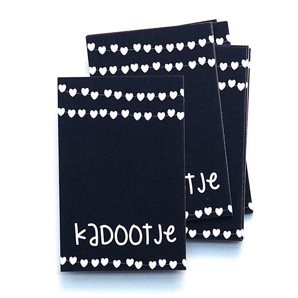 Kadokaartje uit de webshop: kadootje. Gebruik het kaartje als label bij een mooi ingepakt KADOOTJE!!