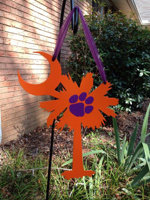 Clemson+South+Carolina+Palmetto+SignCan+be+by+mountainridgedesigns,+$37.00