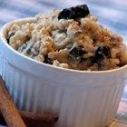 Brown rice breakfast porridge (basically rice pudding with brown rice)