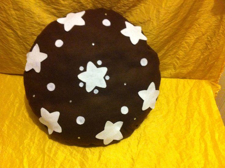Cuscino pan di stelle .. Mis variabili dai 35 ai 50 cm