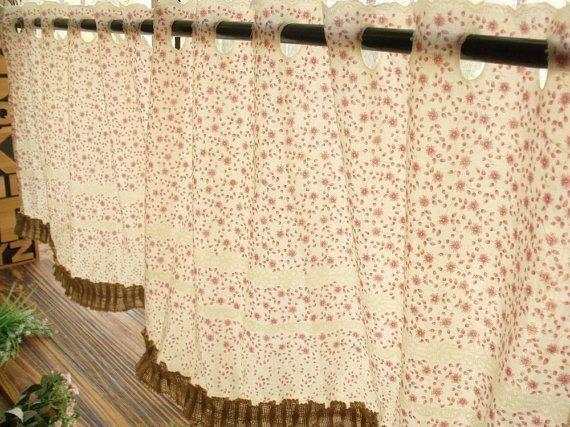 54 minable rustique Toile coton dentelle toile par BetterhomeLiving