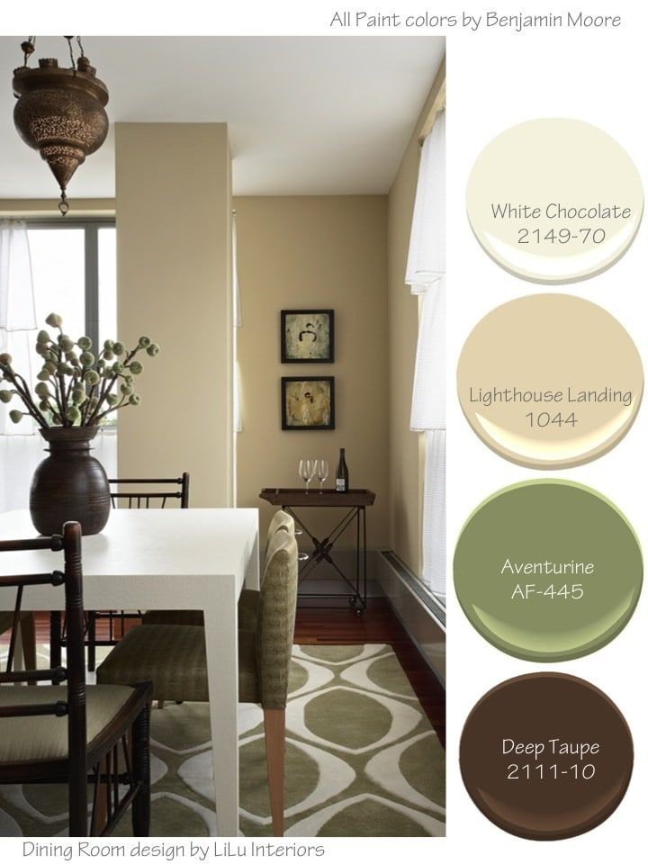 Soothing Color Palettes Lilu S Look Of The Day Dining Room