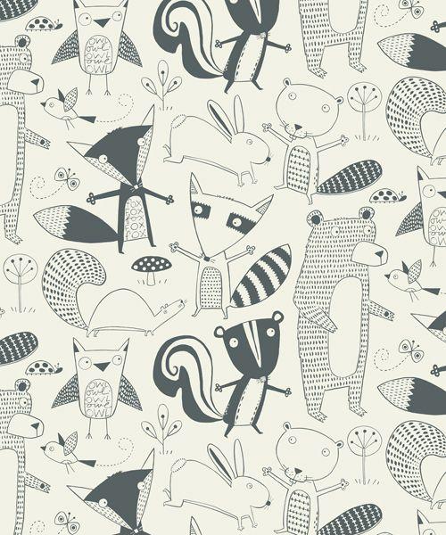 17 idées de papiers peints pour chambre d'enfant