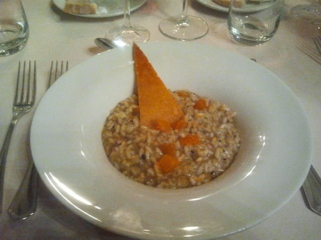 Spoleto. Ezt vacsoráztuk