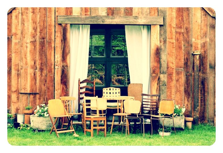 Some of our lovely vintage chairs...