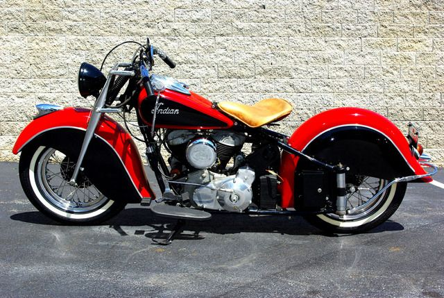 antique motorcycles for sale | 1948 Indian Chief Motorcycles for sale | Fast Lane Classic Cars ...